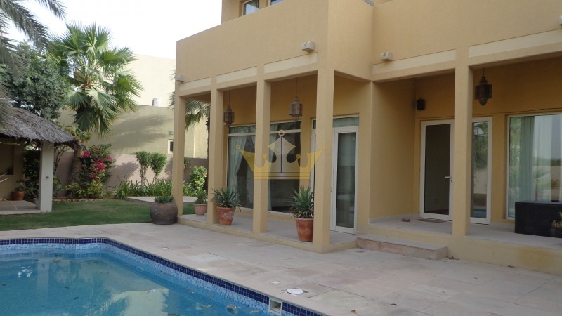 Villa Type 8A Close to Main Entrance in Arabian Ranches