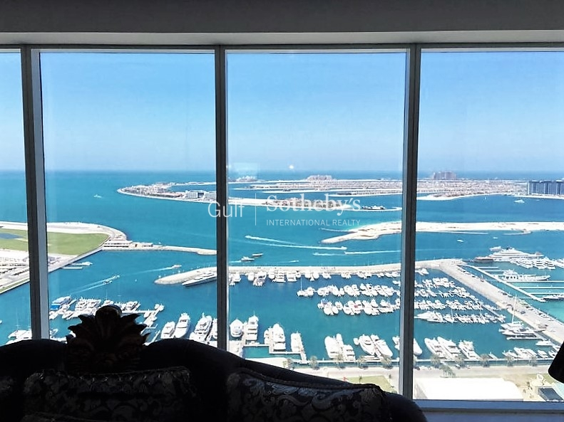 Furnished 3 Bedroom With Full Sea View