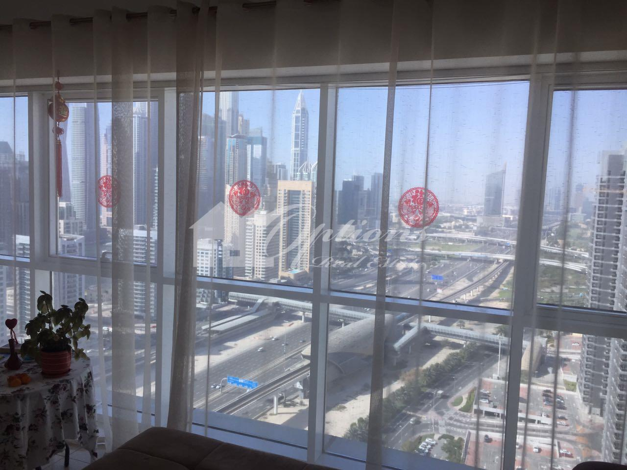 Furnished High Floor Two Br Apartment In Saba Jlt