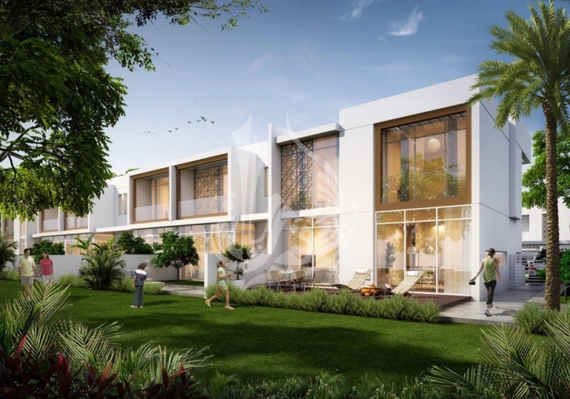 Type A Middle Unit Arabella Townhouse in Dubailand