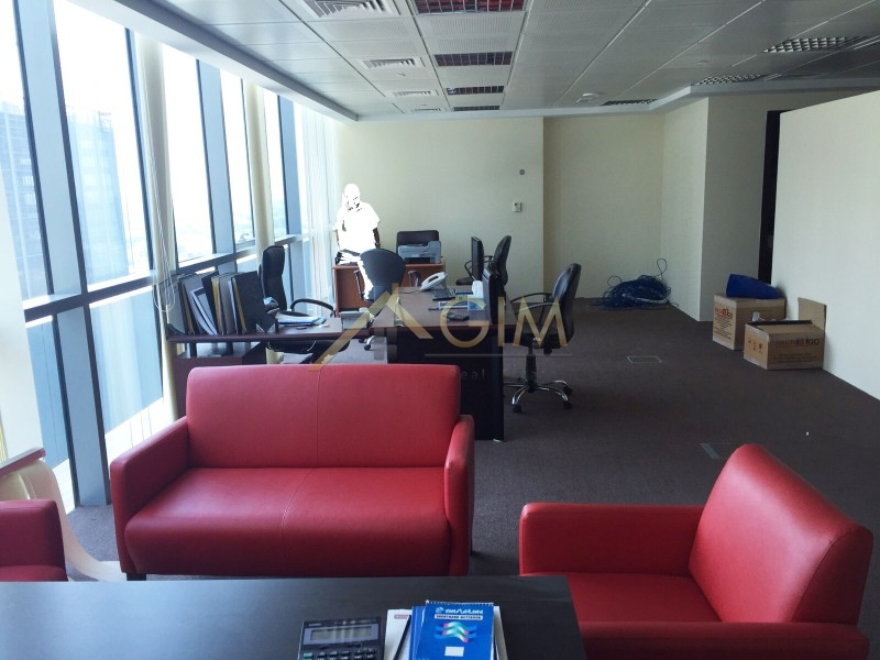 Fully Furnished Office Space In Indigo Icon,jlt