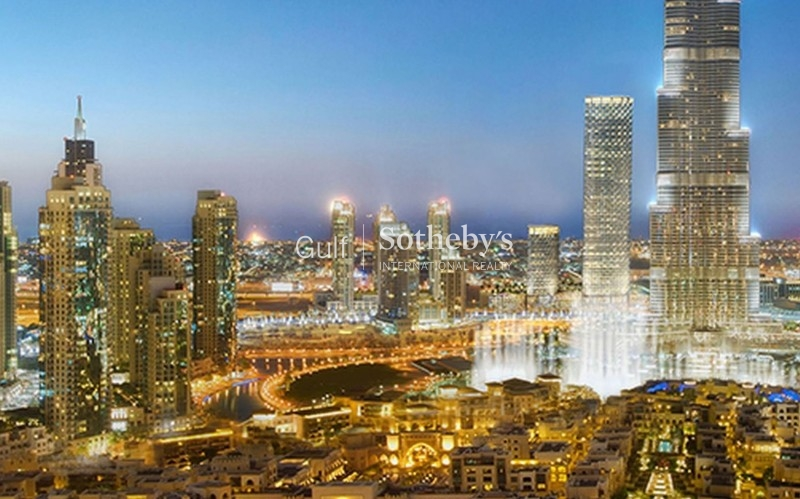 Vacant 2 Bedroom Burj Khalifa And Fountain View High Floor Er S 7934