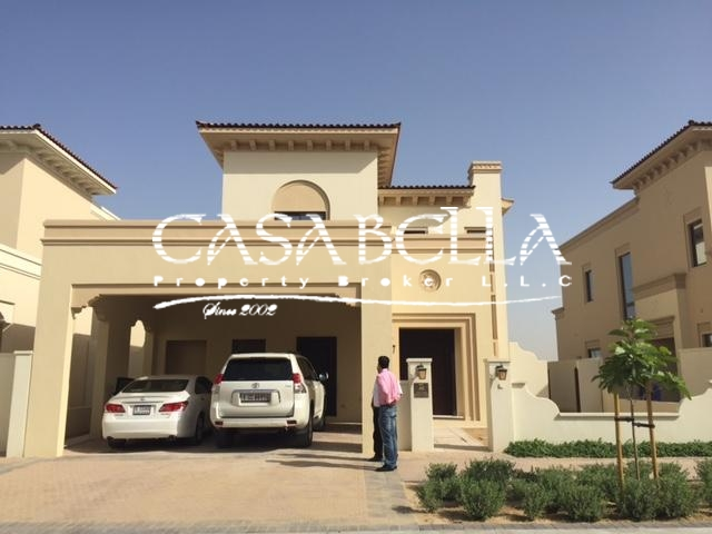 Arabian Ranches - Palma Villa - 3 BHK + Maids Room Available for Rent