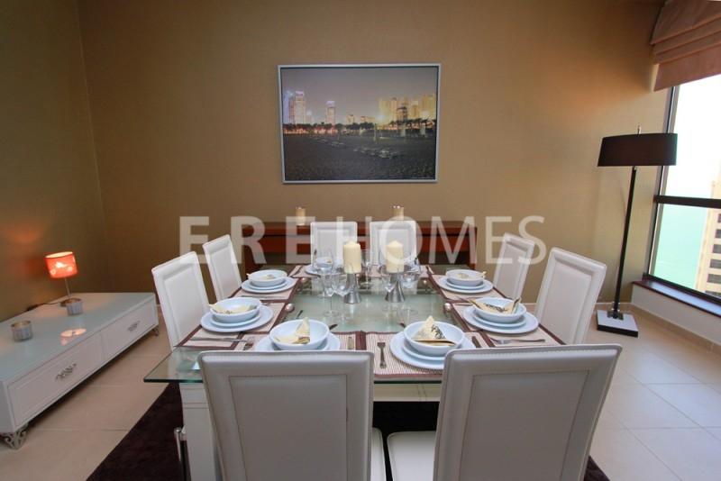 Wow Fully Furnished Jbr, 2 Bed, Full Sea And Palm View, 150,000 4 Cheques Er R 13588