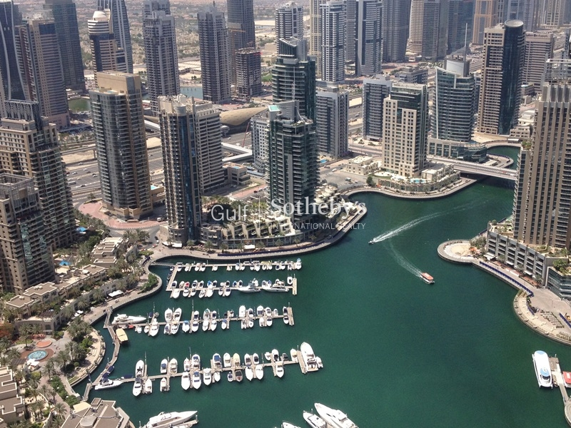 Large 3br With Marina View In Emirates Crown