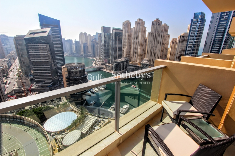 Luxury One Bedroom, Marina And Pool View