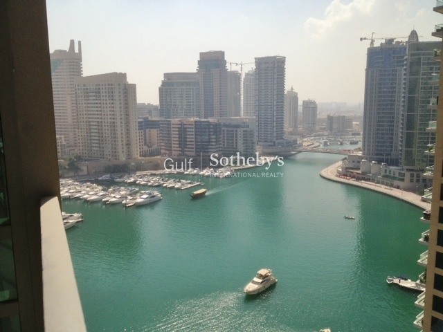 1br Apt With A Marina View In Al Sahab 1
