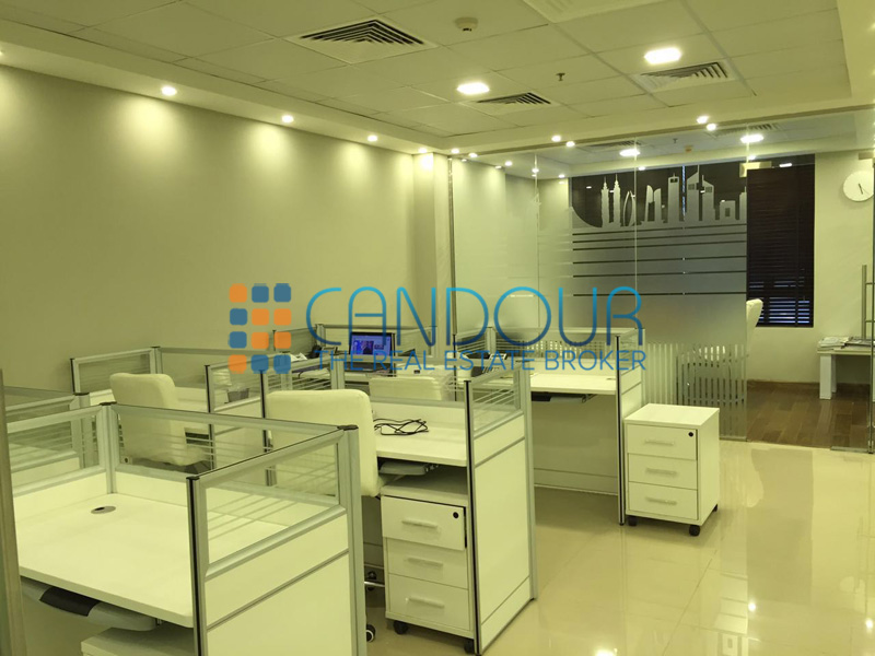 Fitted Office Space In Jvc Prime Business Center
