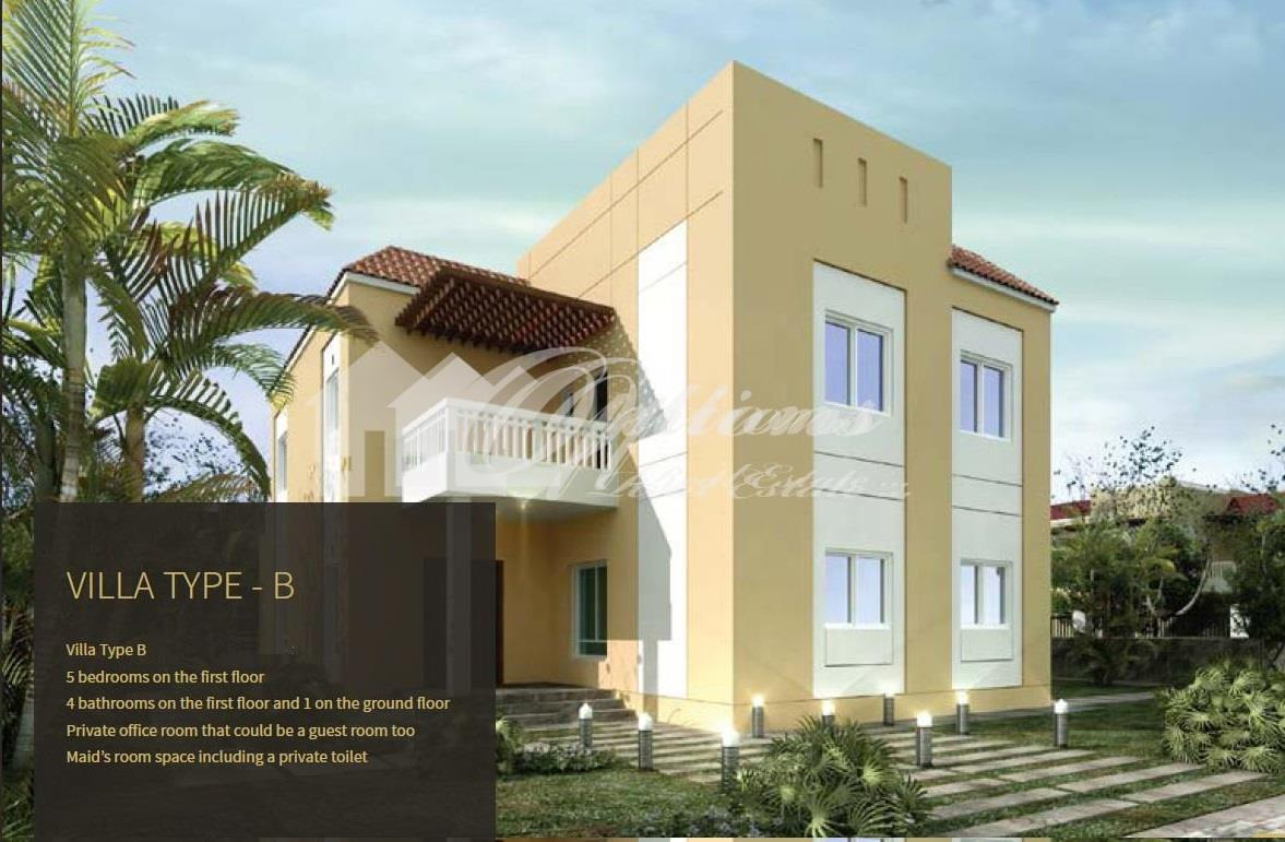 Type B-5 Bedroom Villa For Sale In Living Legends