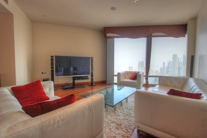 Burj Khalifa-Furnished-Luxury 2br
