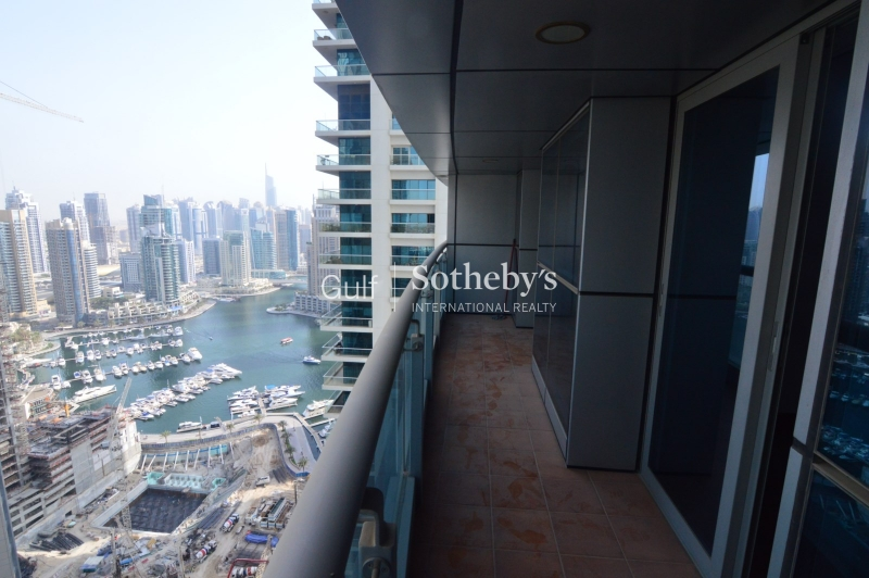 Marina Views, Unfurnished, Available Now