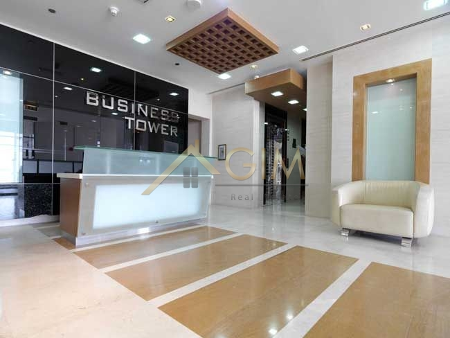 Fully Fitted Office,lake View In Damac Business Tower