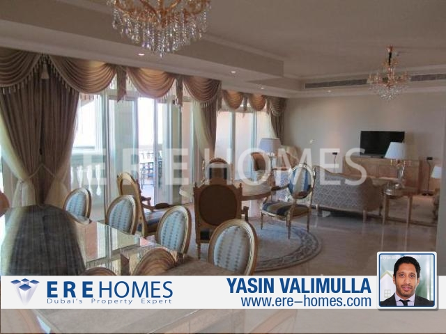 Luxurious Kempinski 2 Bedroom Apartment With Full Sea Views And Fully Furnished (Silver Package) (Er-S-2686)