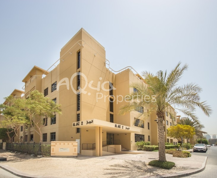 3 Br With Study-Pool And Garden View For Rent In Al Jaz 2