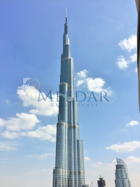 Burj Khalifa View Large 2 Bedroom Loft East