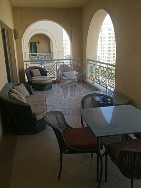 Large Balcony W. Amazing View 3br In Golden Mile