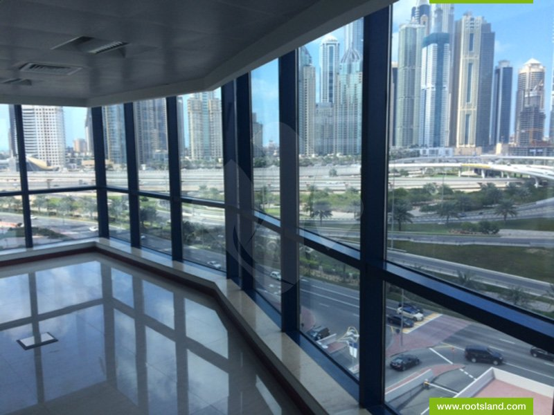 RPN: 7159 - Semi Fitted Office in Jumeirah Bay X3 with Beautiful View