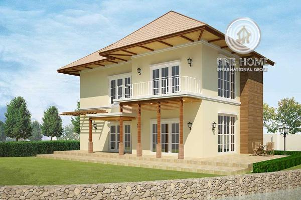 Exclusive Villa In Shakhbout City, V_623