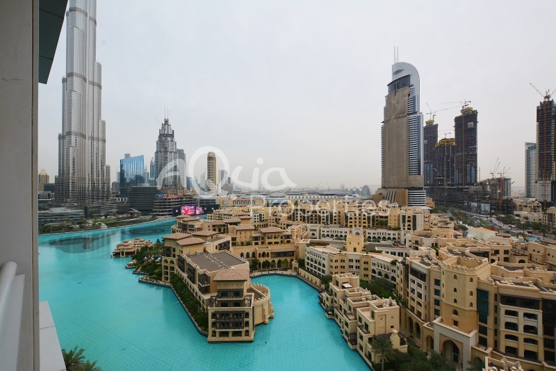 2 BR Unit with large study for Rent in Burj Residences 7