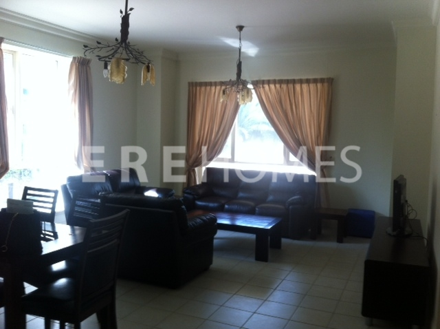 Original Six  Emaar Development, Two Bedroom Plus Study, Fully Furnished, Close to nursery, 210,000 AED