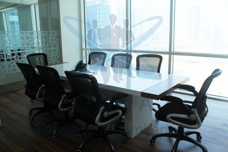Elegantly Fitted And Furnished Office In Bay Square