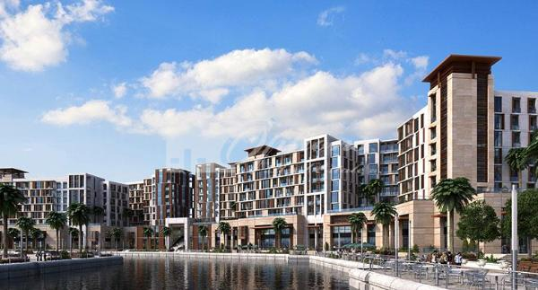 Two Br Apartment In Dubai Wharf With Canal View
