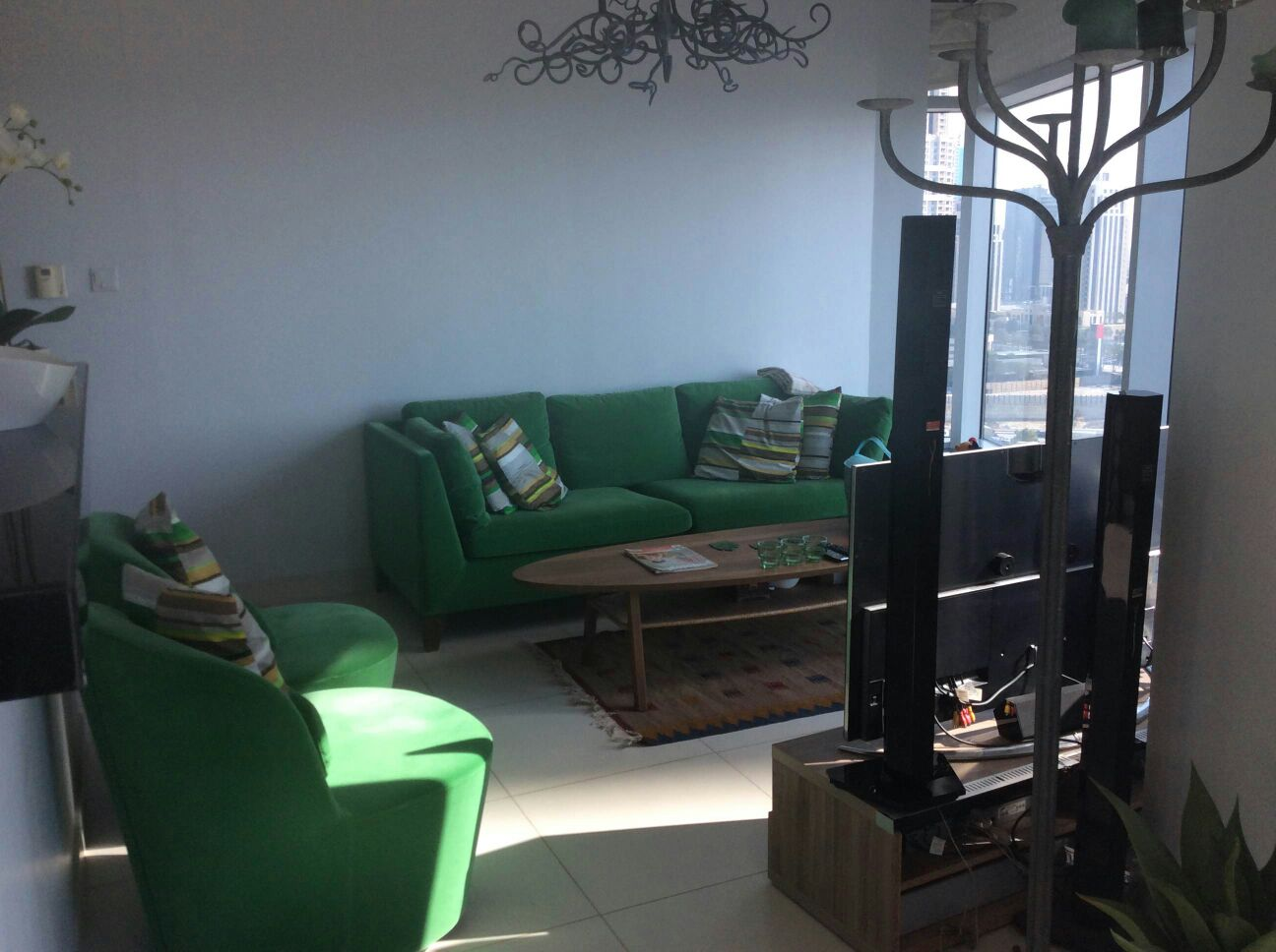 Beautifully Furnished 1 Bed, Boulevard Central, Downtown-140,000 Er R 11072