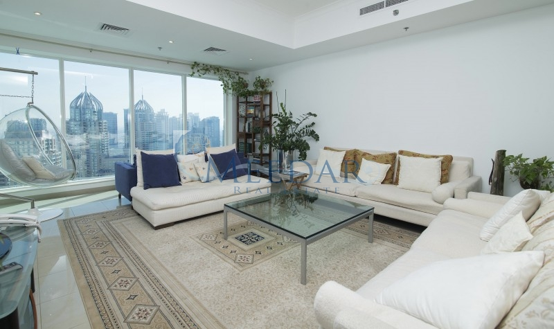 Huge 3br Apartment In Emirates Crown With Full Marina View