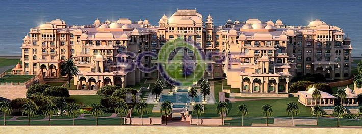 Palm Jumeirah Taj Grandeur Residence Al Maurya C 2 Bedroom +maidroom Fully Furnished Full Sea View Ready To Move