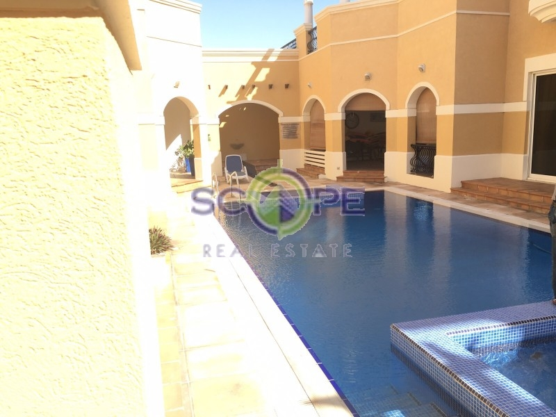 Gorgeous 3 Bed + Maid'S Villa | Vacant | Pool, Suana And Gym