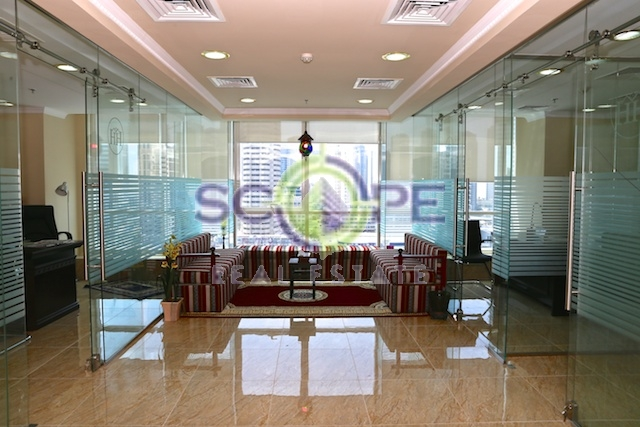 Jumeirah Lake Towers Building Fortune Tower Fully Furnished Rented Office For Sale
