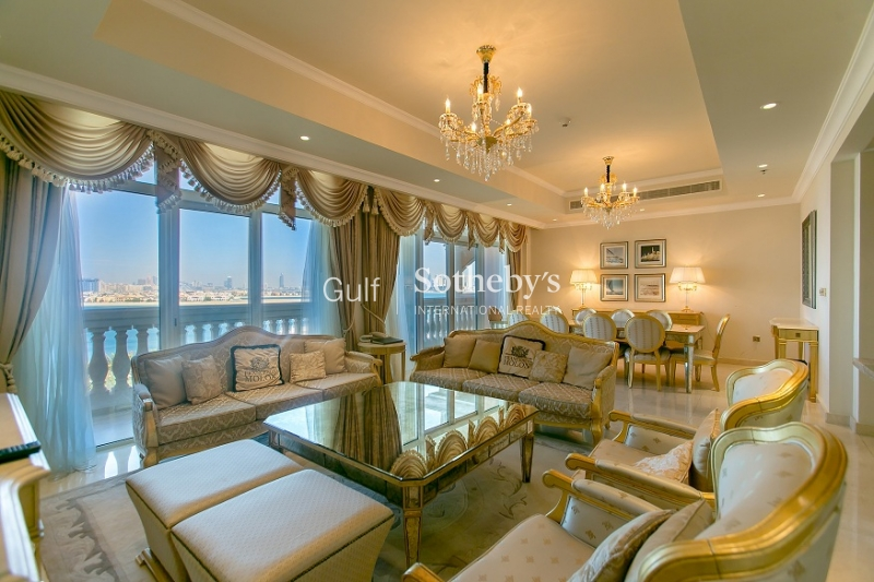Luxurious 4br Penthouse At Kempinski Palm