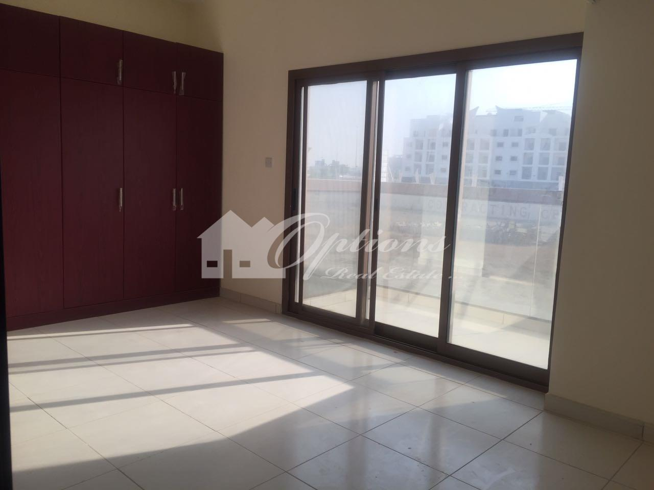 Unfurnished Two Br Apartment In Jvt With Balcony