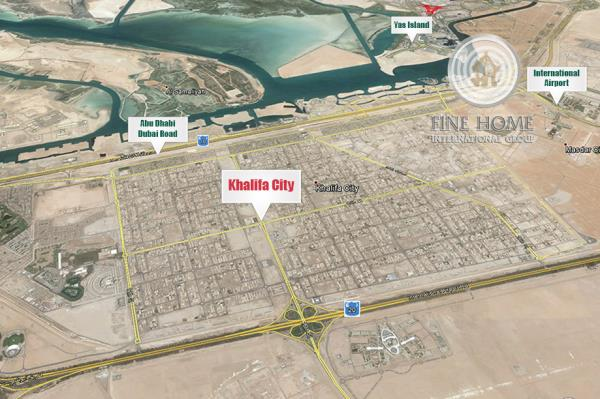 Residential Land In Khalifa City (L_121)