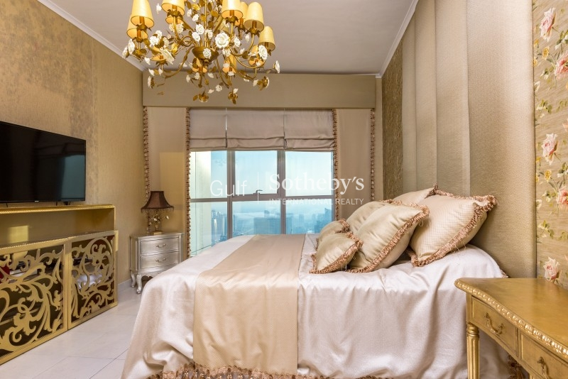 Fantastic 3 Bed Plus Maid B Type In Marina Residence With Full Burj Al Arab Views Call 0509719234 To Viewer-R-9464