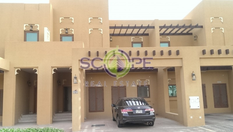 Vacant 3 Bed + Maid Townhouse In Dubai Style Type B, Back To Back