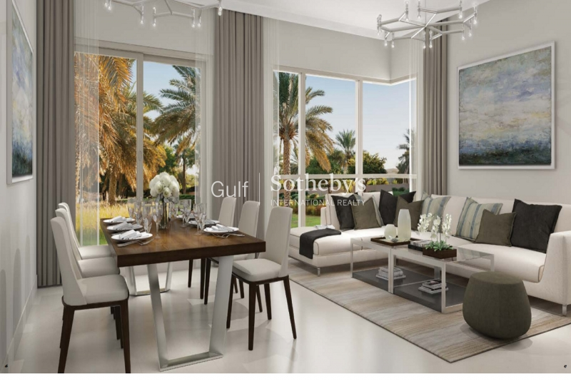 Emaar Dubai Hills Estate 5 Bed End Villa