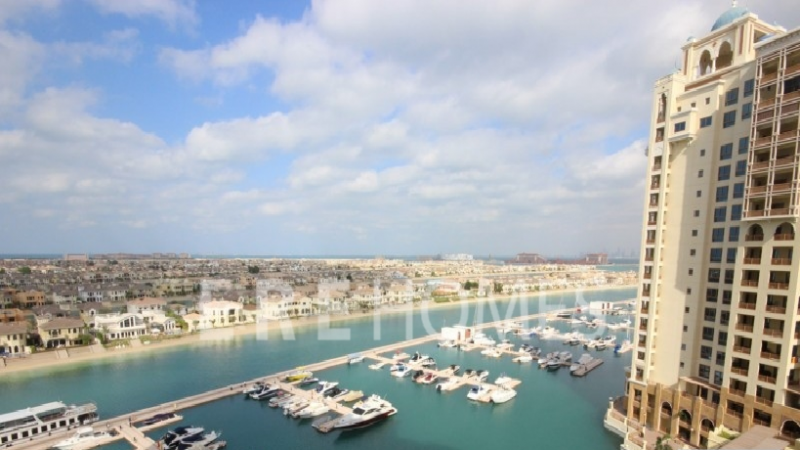 High Floor Sea And Atlantis View Marina Residence C Type Er S 6709
