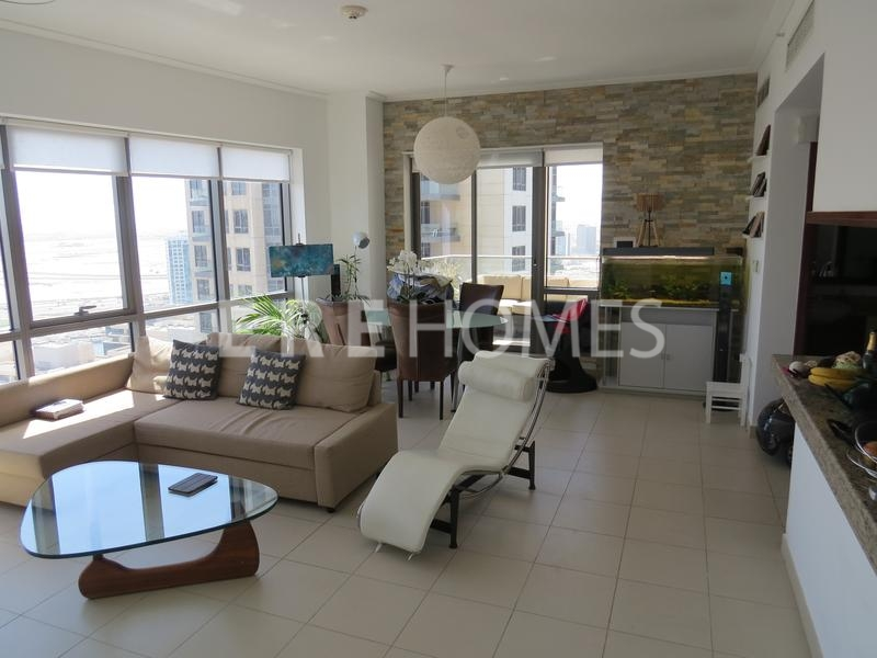 Beautifully Furnished 1 Bed, Southridge 6, High Floor, Downtown 125,000 Aed
