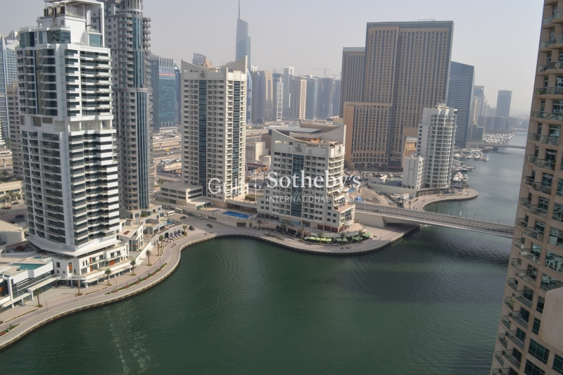 Full Marina View, 2 Bedroom, Unfurnished