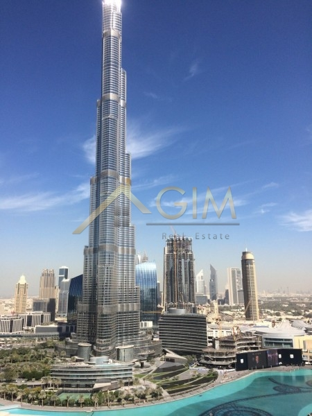 Unique One Bedroom In All Residences Tower With Full Burj Khalifa And Fountain View