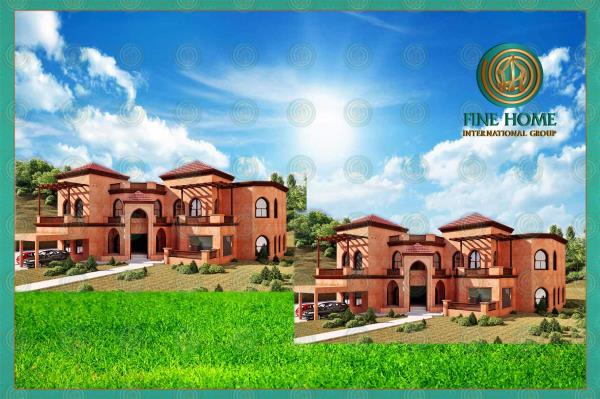 2 Villas Compound In Shakhbout City (Co_400)