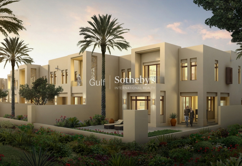 Single Row Townhouse 3 Bedroom Mira Oasis