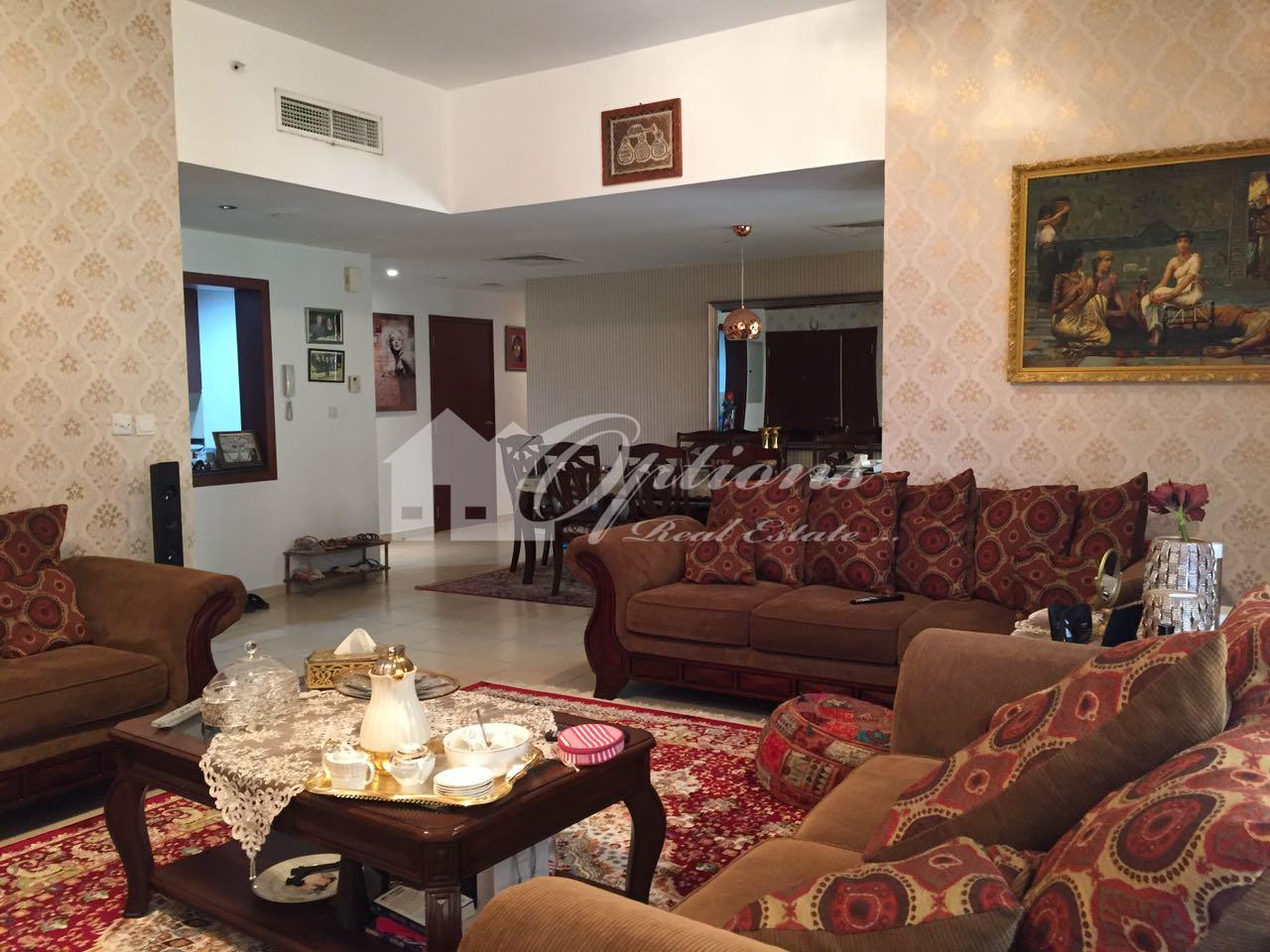 Unfurnished Three Br Apartment In Sadaf Jbr