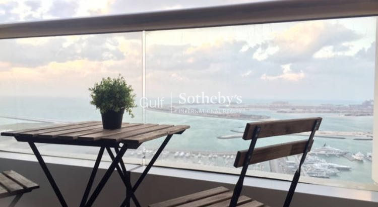 Stunning Sea View 1bed, Elite Residence