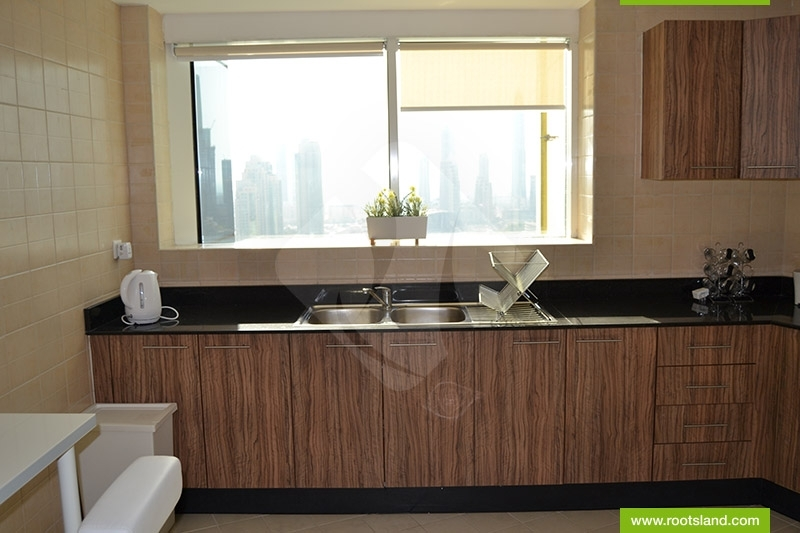 Spacious 2 Bedroom , Closed Kitchen, 3 Min To Dubai Mall