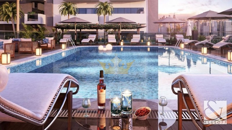 Service Apartment, 2Bedrooms Pool View in Samia Azizi