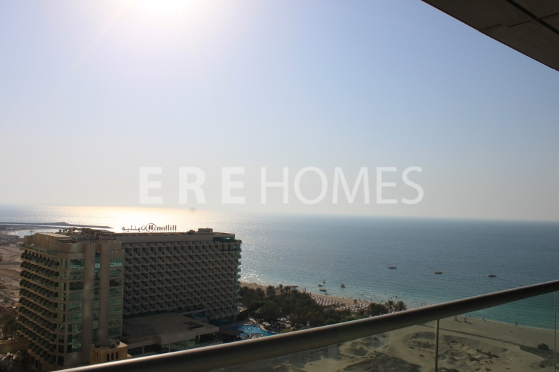 Panoramic Sea View, 3 Bedroom Plus Maids, Al Fattan Tower Er R 15412