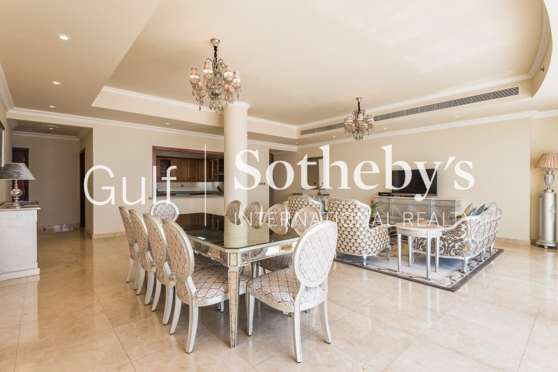 Beautiful High Number Upgraded And Furnished Riviera Signature Villa, Palm Jumeirah Er S 5576