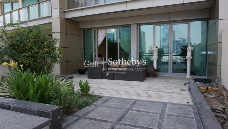 Fully Furnished-1 Bedroom With Terrace